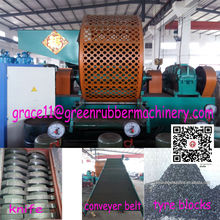 automatic tyre recycling plant recycled tyre rubber granules machine