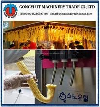 hollow tube Ice cream /corn puffing machine making J shape P shape hollow tube corn ice cream machine