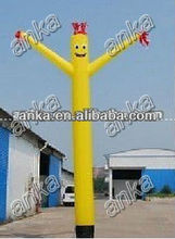 2012 hot inflatable sky puppet with blower