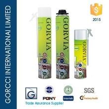 Gorvia Item-E 500ml Straw type PU foam sealant Foam Crack Filler/Gaps & Cracks Insulating Foam Sealant