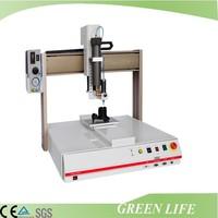 High precision three axis key glue stick machine benchtop automatic spray glue spreading machine