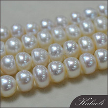 Sale AAA nice quality natural 9 - 10mm half round pearl