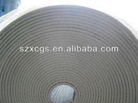 GRC7707 Reflective white polyolefin foam heat Insulation 8mm thickness