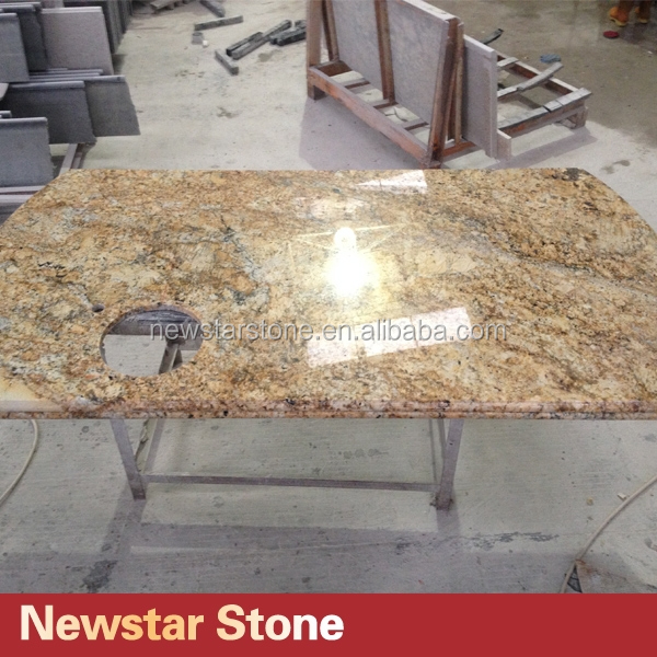 Project popular color brazil kitchen granite countertops for Granite countertops colors price