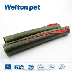 Raw Ingredients Digestive Care Kiwi Fruit&Chicken Flavor Double Color Pet Dental Stick