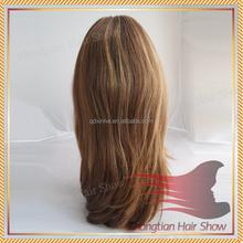 Virgin Hair #6 Highlight Color European Jewish Kosher Wigs