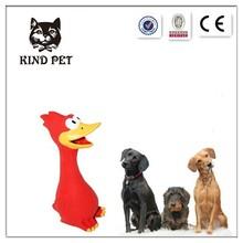 Screaming Rubber Chicken Pet Dog Squeak Toy
