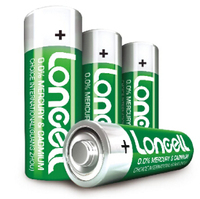 LONCELL Brand high quality 1.5V AA r6 um3 extra heavy duty dry battery