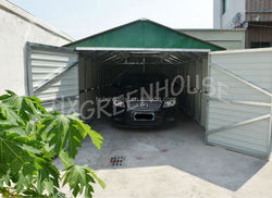 Low cost metal car shed in alibaba china