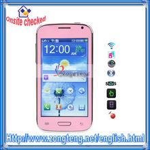 Hot 2014 !! China Mobile Phone i9300 Mtk6250 Dual SIM Qualband Wifi FM MP3/MP4 Bluetooth Pink