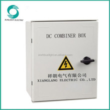 8 strings PV solar module junction combiner box