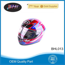 New design unique free motorcycle helmets from BHI motorcycle parts