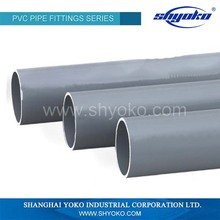 2015 Best quality china factory large diameter pvc pipe prices