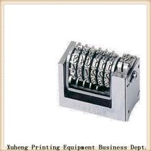2014 numeración y perforación de la máquina de impresión de numeración de la máquina de la caja