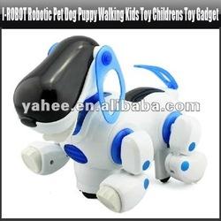i-ROBOT Robotic Pet Dog Puppy Walking Kids Toy Childrens Toy Gadget,YGA418A