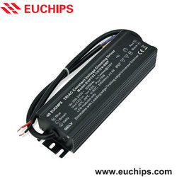 Shang Euchips latest design 12VDC 6.2A 1 channel waterproof triac constant voltage dimming driver