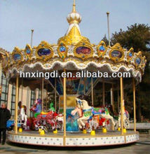 2015 Shopping Center and Indoor Use 6 Seats Mini Carousel for Buyer