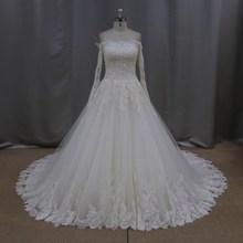Off shoulder beaded brooch unique ali express wedding dresses