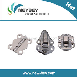 Small wood box clasp and hinge as box hardware accessories