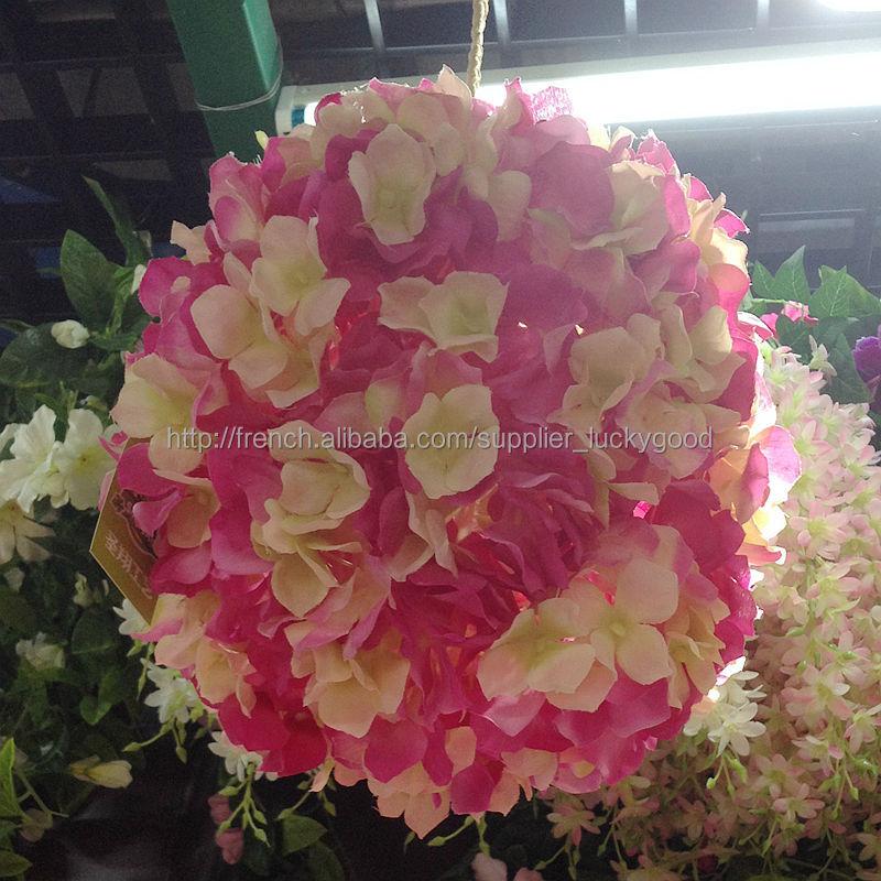 Marine Artificiel Bleu Fleur Rose Ballon Pour La Decoration