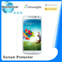 2014 newest Samsung S4 9H privacy tempered glass screen protector