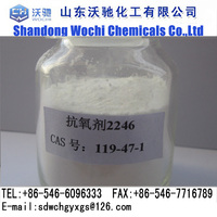 China supplier antioxidant (2,2'-methylenebis(6-tert-butyl-4-methyl-phenol))2246 CAS:119-47-1
