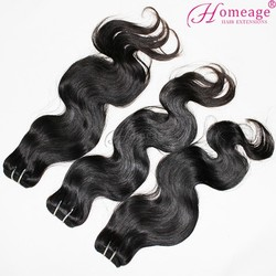 Homeage Professional Hair Products Cheap Virgin Human Hair sew in weave,Top Masterpiece 100% virgin malaysian hair