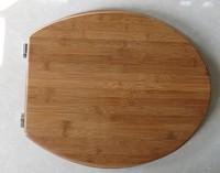 Bamboo Toilet Seat SD55005