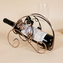 Specials Iron metal wine rack bottle wine rack fashion ornaments and practical home decorations