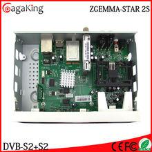 Chaînes gratuites récepteur Satellite origine Zgemma étoiles 2 S 256 MB NAND Flash / 512 MB DDR3 Satellite récepteur supermax hd