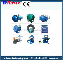 automatic control used tires retreading
