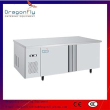 Under Counter Stainless Steel Commercial Salad Bar Refrigerator for Catering Equipment