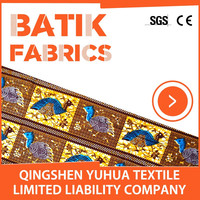 Cotton Fabric / Batik Bag / Kain Batik