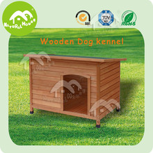 Flat roof wooden Dog kennel,waterproof dog kennel,outdoor dog kennels