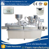Small box filling packaging machine for beauty comestic