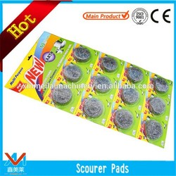 Household products good quality factory price pot scourer Cleaning scourer for sale with high quality and selling well