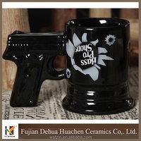ceramic gun mug gun coffee mug