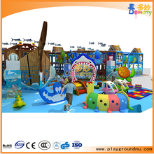 PVC,wooden and galvanized pipe material indoor house playground for commercial used