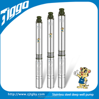 4ST3/12 high flow rate centrifugal submersible water pump