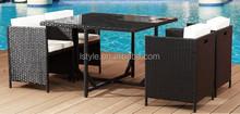 garden outdoor cheap cube sofa set