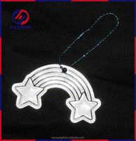 Manufactory production custom reflective pendant for clothes tag,key tag,nag tag luggage tag