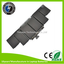 Original Genuine Laptop Battery for Apple A1417 A1398 MD975 MD976 notebook batteries