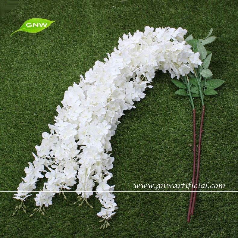 Gnw flw1503 wedding decoration table centerpiece for Artificial flowers for wedding decoration