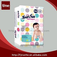 Super Soft Your Sun Disposable Baby Diapers With Cheap Price