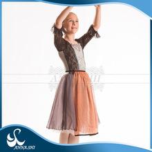 Dance costumes supplier Ballet dress supplier Fitting Classical children frilly dress
