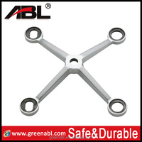 ABL Newest 304 stainless steel glass fin spider for glass curtain wall for glass wall in high standard quality