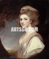Supplier Dropshipping of Canvas Print of Woman Portrait Painting