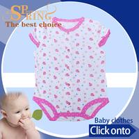sleeveless summer baby set new born wholesale smocked dresses baby BB053