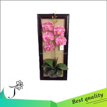 JY artificial flowers making for home decoration wall hanging butterfly orchid