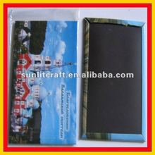 new products for 2012 cheap promotional recycle tin magnet fridge